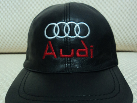 Audi Leather Black Baseball Hat Cap [BUY 1 GET 1 FREE]