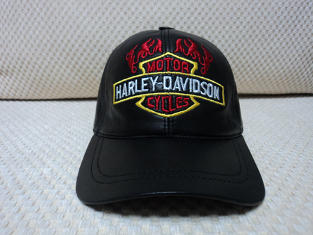 Harley Davidson Leather Black Baseball Hat Cap [BUY 1 GET 1 FREE]
