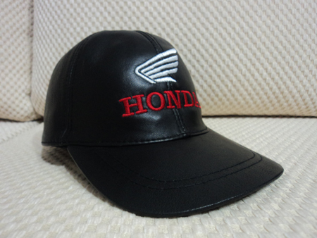 Honda Leather Black Baseball Hat Cap [BUY 1 GET 1 FREE]