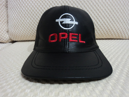 Opel Leather Black Baseball Hat Cap [BUY 1 GET 1 FREE]