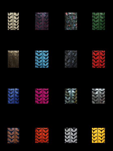 Other Available Colours of Leather Leaf Jackets Design 01